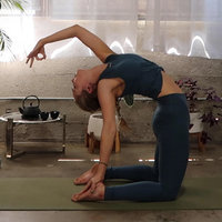Yoga Instructor who is deeply moved by sharing the spiritual and physical elements of yoga.